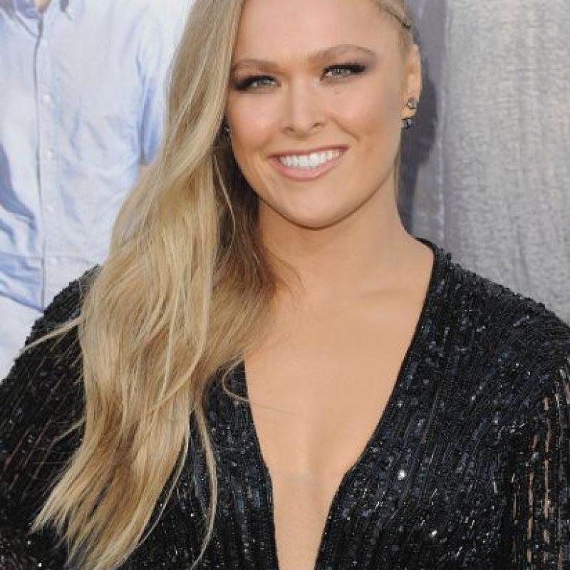 Pero fuera del ring, Ronda es una celebridad. Foto:Getty Images