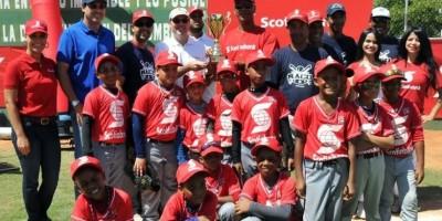 Liga Naco conquistó la Copa Nacional de Béisbol Infantil