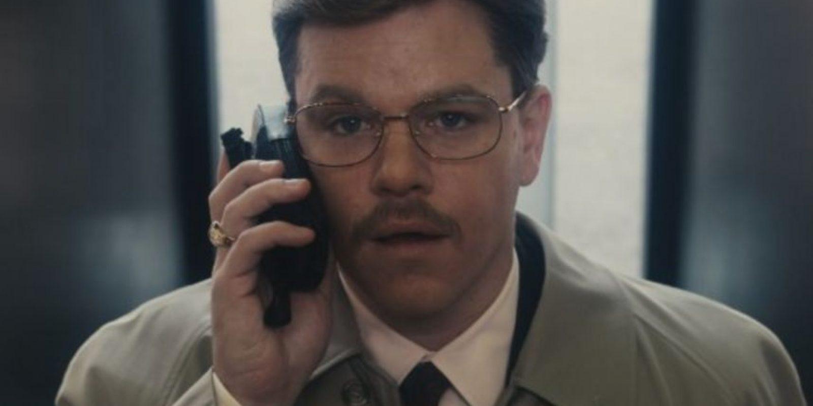 """En 2009, Damon le dio vida a """"Mark Whitacre"""", un ejecutivo que colaboró con la FBI para revelar un caso de manipulación de precios de la empresa Archer Daniels Midland Foto:IMDB"""