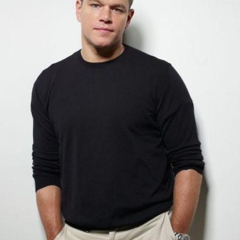 """El actor ganó 13 kilos (28 libras) para su papel en la cinta """"The Informant!"""" Foto:Getty Images"""