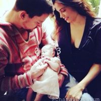 Jenna dio a luz a una pequeña bautizada como Everly. Foto:vía instagram.com/channingtatum