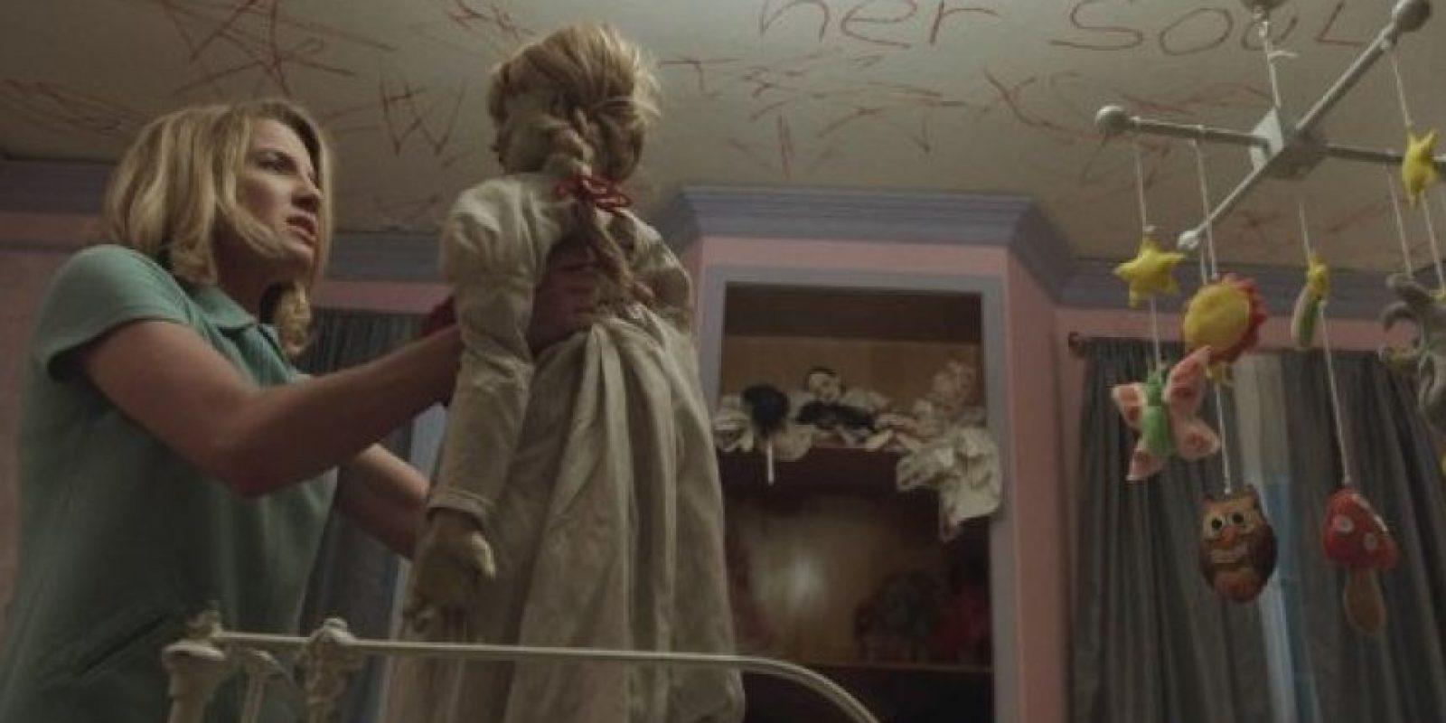 La cinta de terror logró recaudar más de 250 millones de dólares. Foto:Warner Bros.