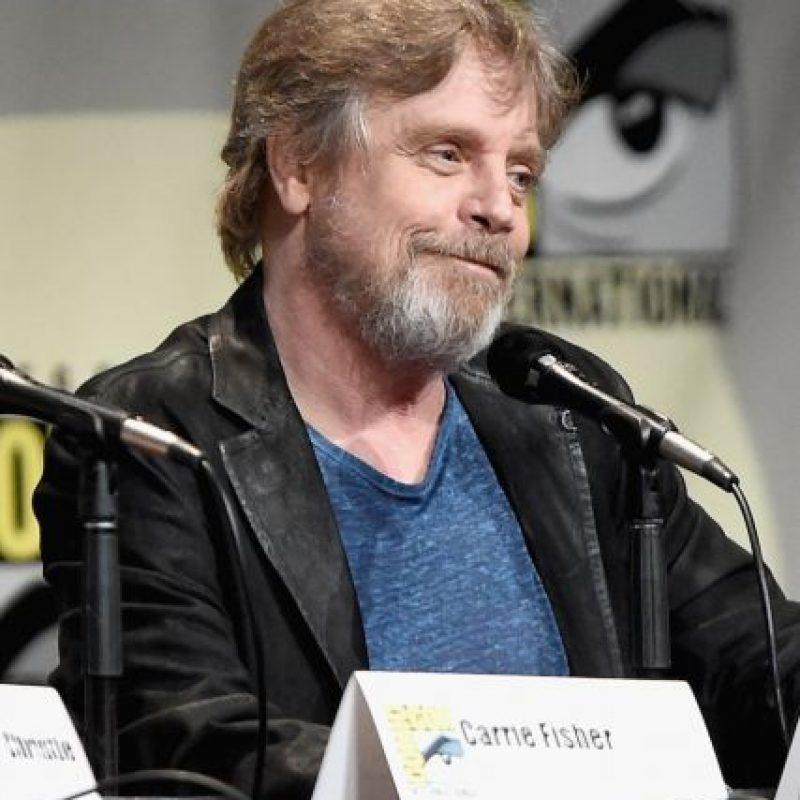 """Mark Hamill interpreta a """"Luke Skywalker"""" Foto:Getty Images"""