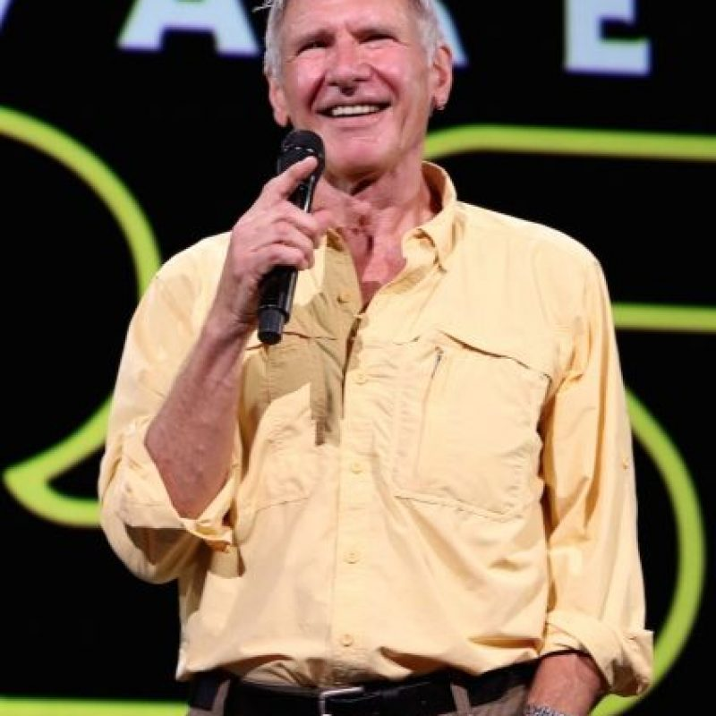 """El actor Harrison Ford retoma su papel como """"Han Solo"""" Foto:Getty Images"""