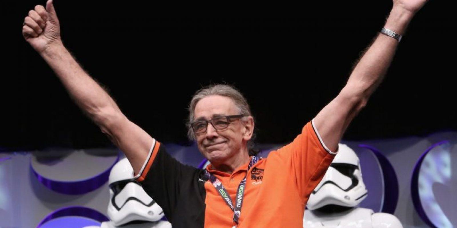 "Peter Mayhew quedó a cargo de ""Chewbacca"". Foto:Getty Images"