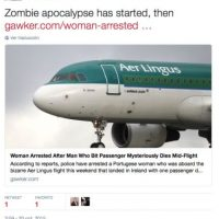 """""""Entonces ya inició el Apocalipsis zombie"""" dijo el editor de sitios como City Metric, John Elledge Foto:Twitter.com"""