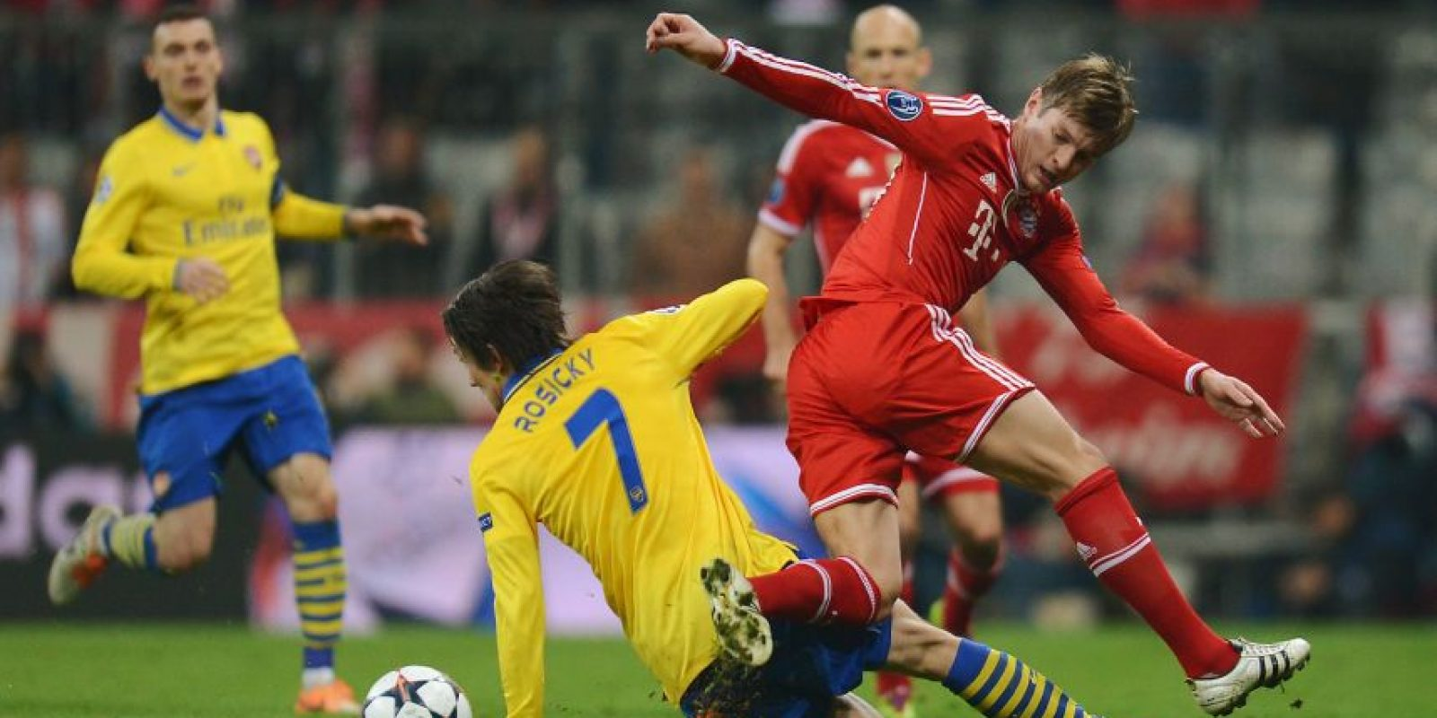 Arsenal vs. Bayern Munich en Emirates Stadium, Londres. Foto:Getty Images