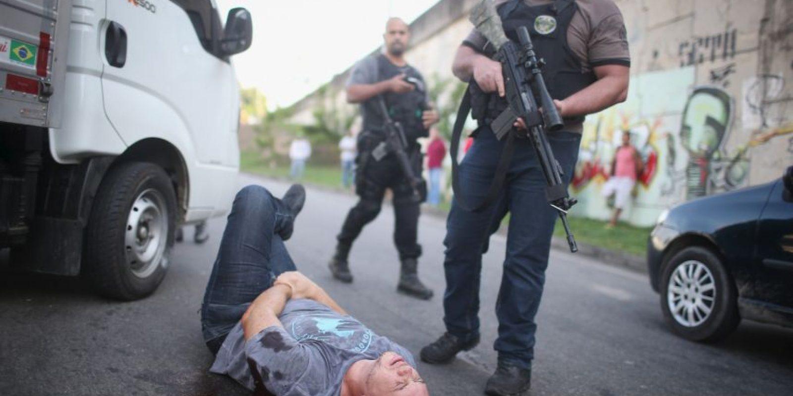 Otras veces son detenidos y la pasan muy mal. Foto:Getty Images