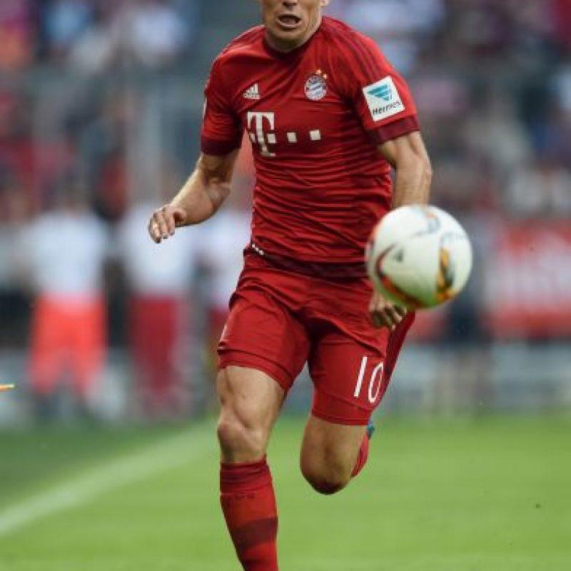 5. Arjen Robben (Bayern Munich/Holanda) Foto:Getty Images
