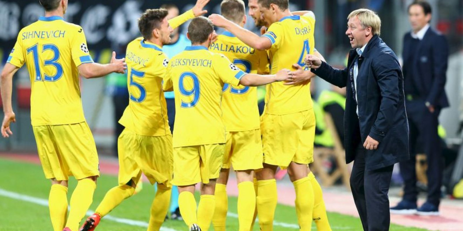 En la jornada 2, BATE sorprendió a la Roma y los venció 3-2. Foto:Getty Images