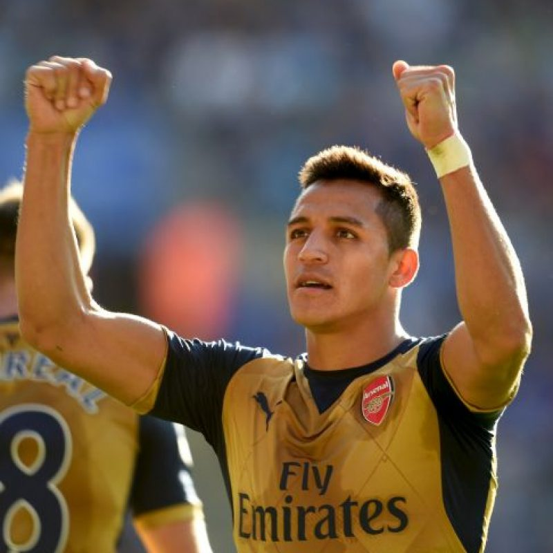 2. Alexis Sánchez (Arsenal/Chile) Foto:Getty Images