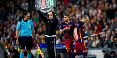 En la Liga BBVA, Barcelona marcha como tercer lugar con 18 puntos. Foto:Getty Images