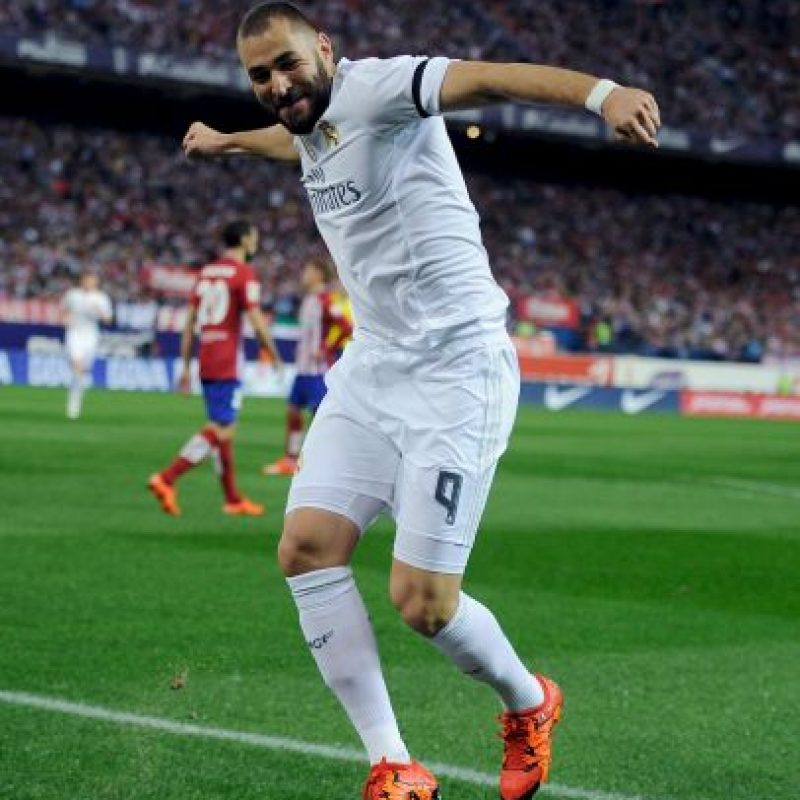 10. Karim Benzema (Real Madrid/Francia) Foto: Getty Images