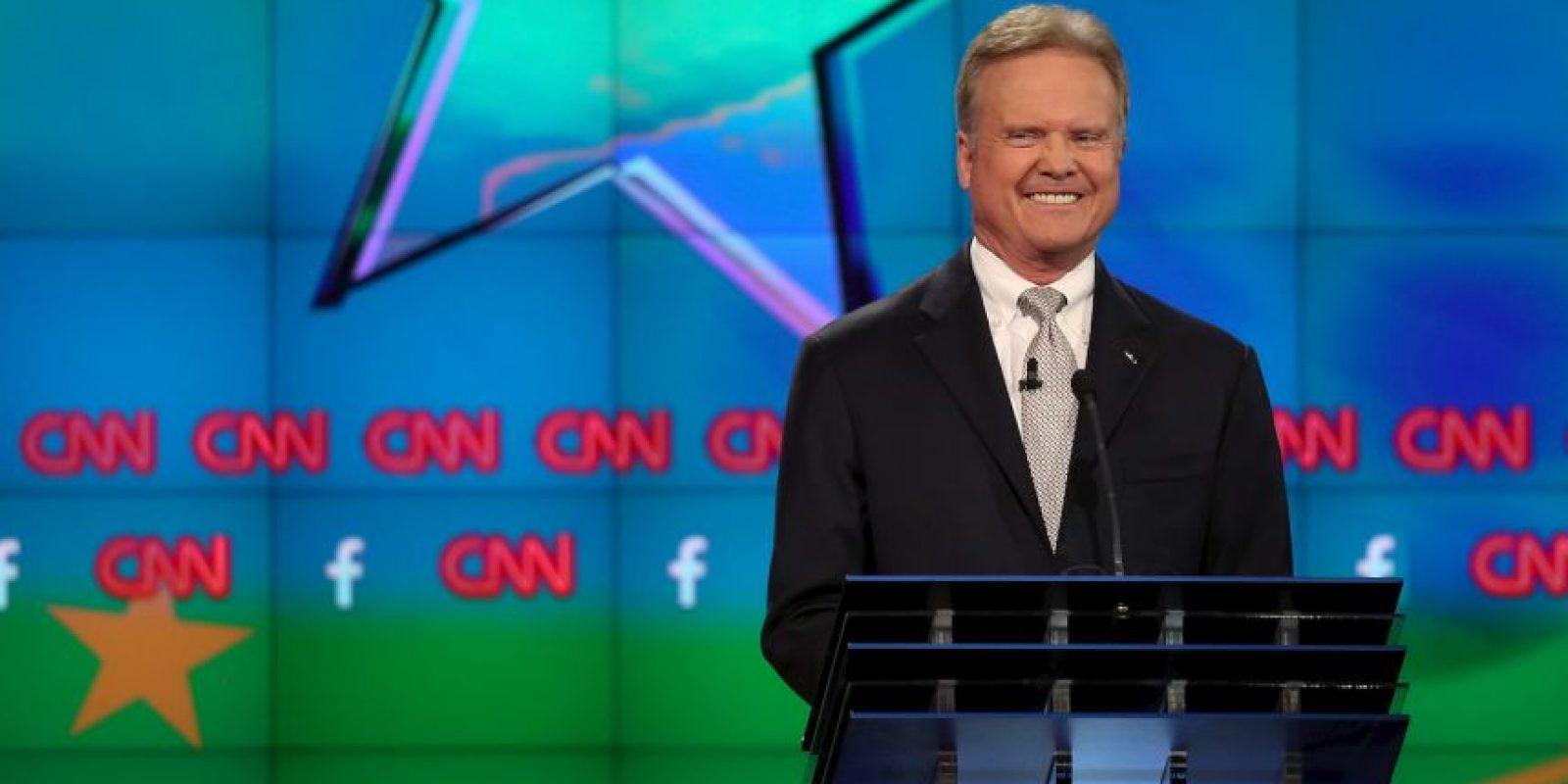 Jim Webb, es uno de los cinco precandidatos del Partido Demócrata. Foto:Getty Images