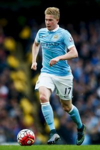 20. Kevin de Bruyne (Manchester City/Bélgica) Foto: Getty Images