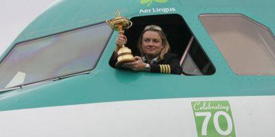 Viajaba en la compañía irlandesa Aer Lingus Foto:Getty Images