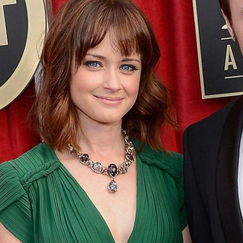 """Apareció en """"Mad Men"""", donde conoció a su marido, Vincent Kartheiser. Foto:vía Getty Images"""