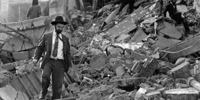El ataque a las oficinas de la AMIA, ocurrido en 1994 y que dejó como saldo 85 muertos y 300 heridos. Foto:AFP
