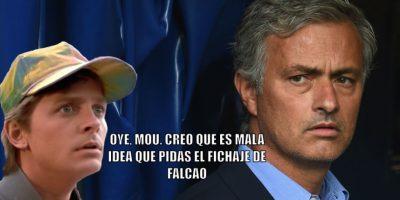 10. El fracaso de Falcao en el Chelsea (y también en Manchester United). Foto:Getty Images