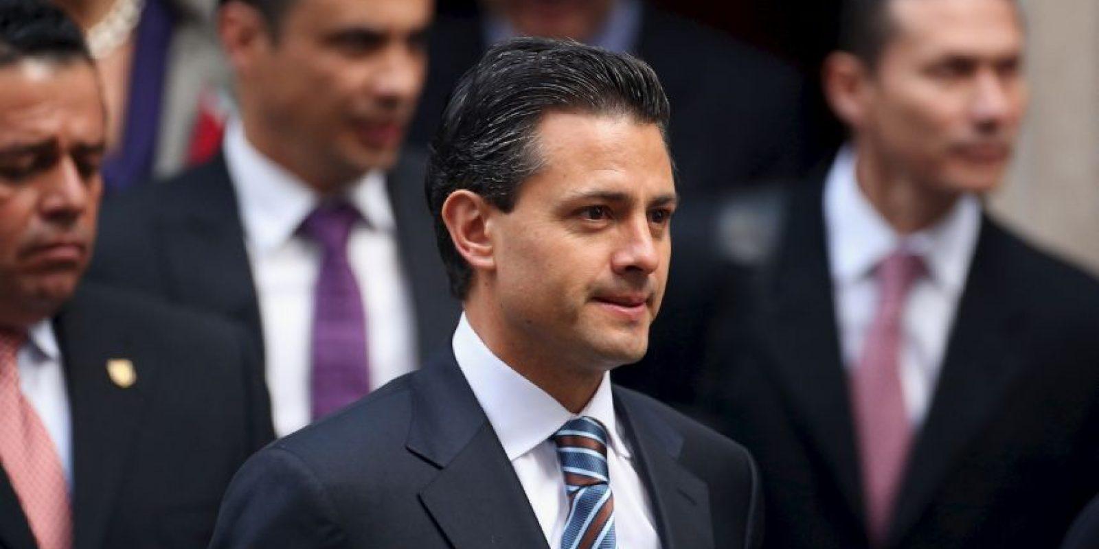 7. Enrique Peña Nieto, Presidente de México Foto:Getty Images
