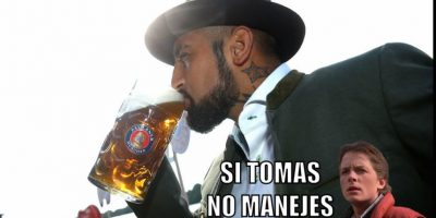5. El escándalo de Arturo Vidal en la Copa América por manejar alcoholizado. Foto:Getty Images