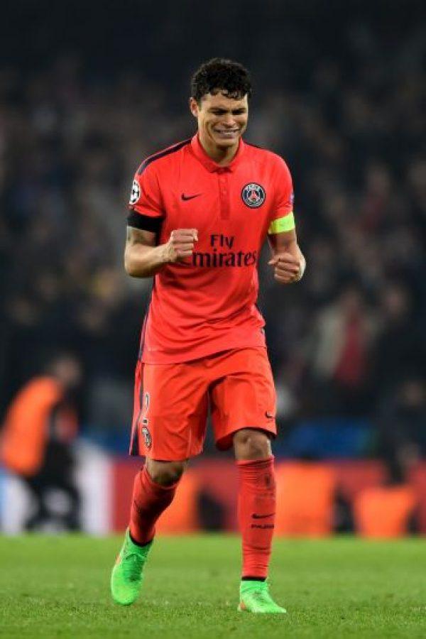 18. Thiago Silva (PSG/Brasil) » 17.8 millones de dólares. Foto:Getty Images