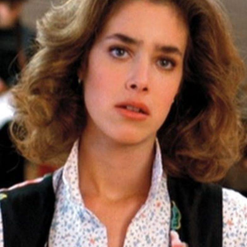 """La actriz interpretó a """"Jennifer"""", la novia de """"Marty"""". Foto:Vía Twitter"""