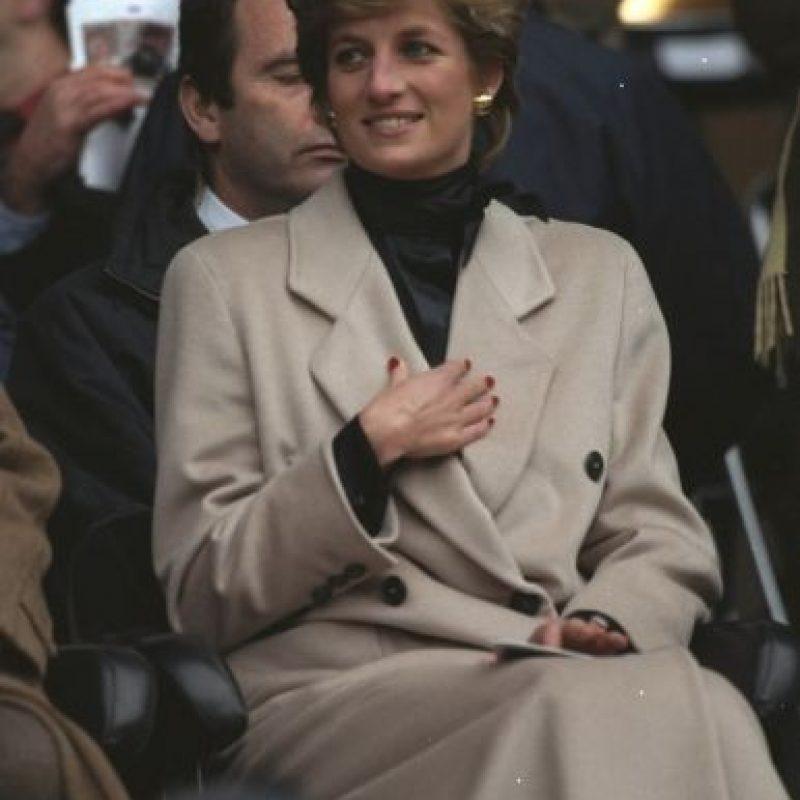 En la cabecera se indica que Diana visitará la ciudad de Washington Foto:Getty Images