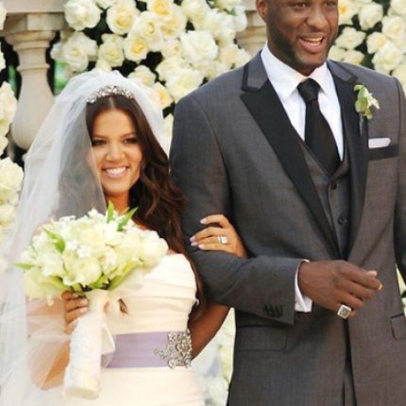 Posteriormente, el divorcio se encontró en pausa pues Khloé intentó salvar su matrimonio, tratando que Lamar entrara a un centro de rehabilitación. Foto:Grosby Group