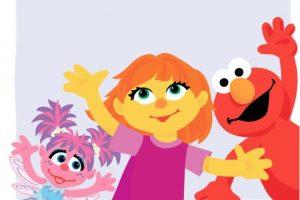"""""""Julia"""" es el primer muppet autista de """"Plaza Sésamo"""" Foto:Facebook/SesameStreet"""