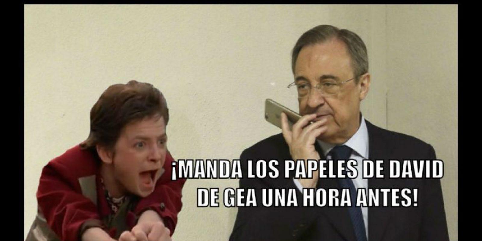 12. El ridículo del Real Madrid intentando fichar a David de Gea. Foto:Getty Images