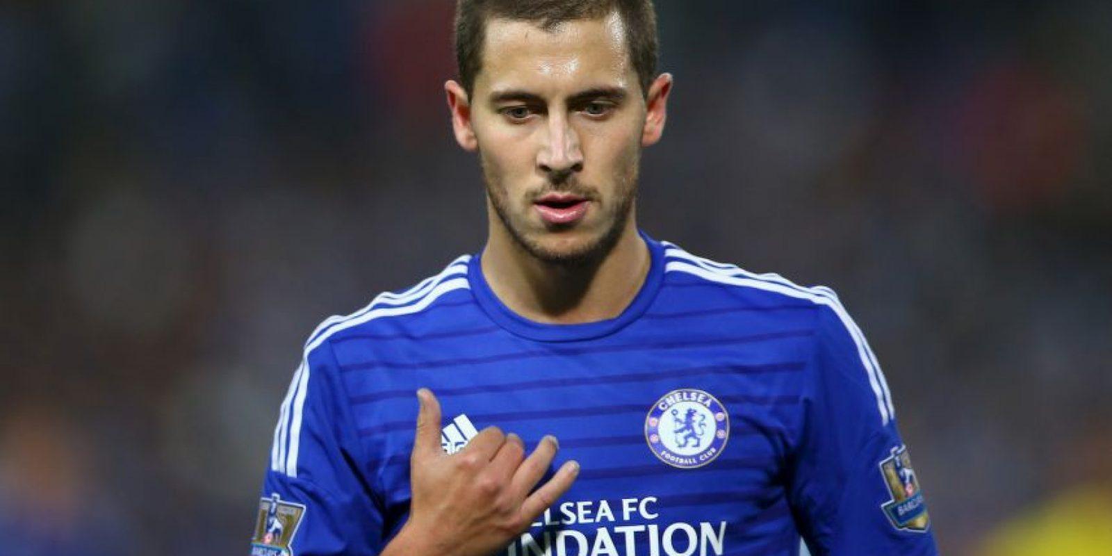 13. Eden Hazard (Chelsea/Bélgica) » 18.9 millones de dólares. Foto:Getty Images