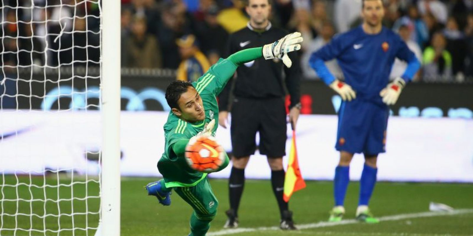 "Keylor Navas se ha afianzado en la portería ""merengue"" Foto: Getty Images"