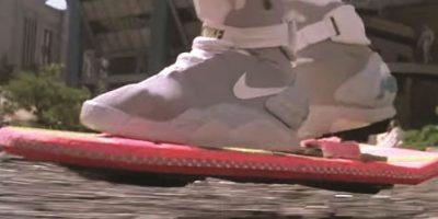 AEROTABLA: La muy cool tabla de skate voladora de Volver al Futuro II ha frustrado a los aspirantes a creadores por décadas. Hasta el momento, nadie se ha levantado por encima del resto e inventado una solución realmente viable –¡maldita sea!