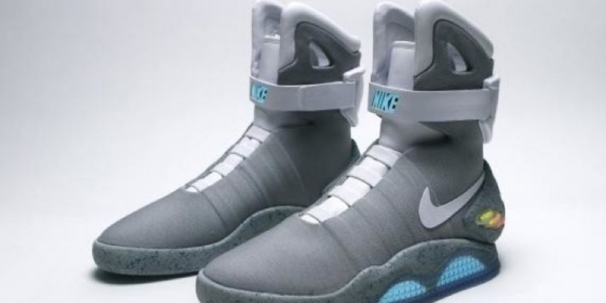 Zapatos deportivos de Marty McFly son una realidad