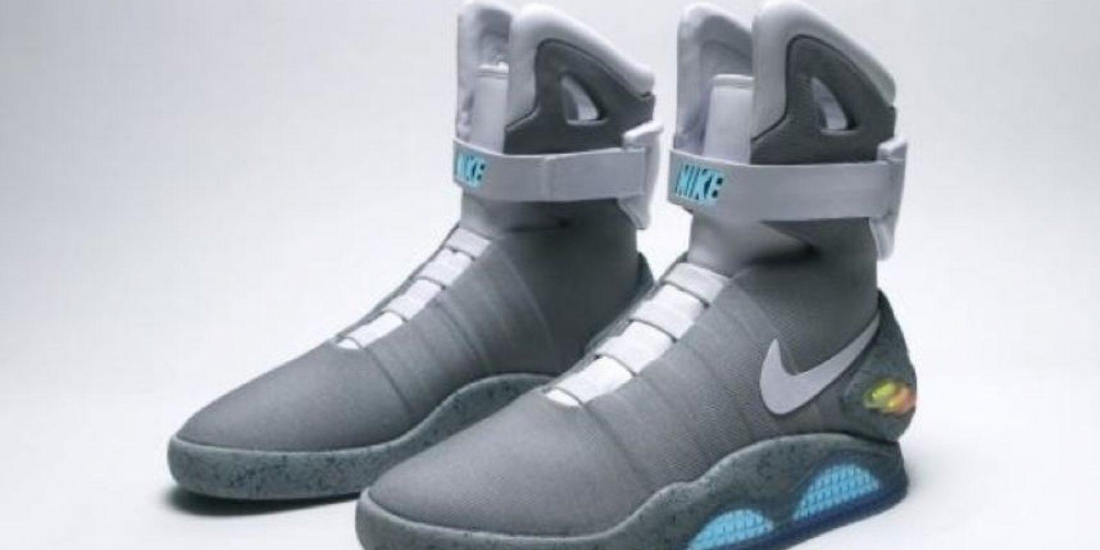 """Según informes de varios medios, los zapatos deportivos se llamarán """"Nike Air MAG"""" Foto:Vía Twitter"""