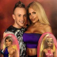 Esta pareja está totalmente obsesionada con Barbie y Ken. Foto:Vía Instagram/@kendehar