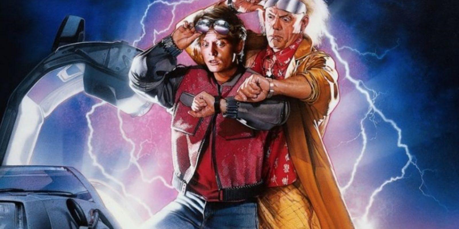"""La película """"Volver al Futuro"""", dirigida por Robert Zemckis, fue estrenada en 1985. Foto:Vía Twitter"""