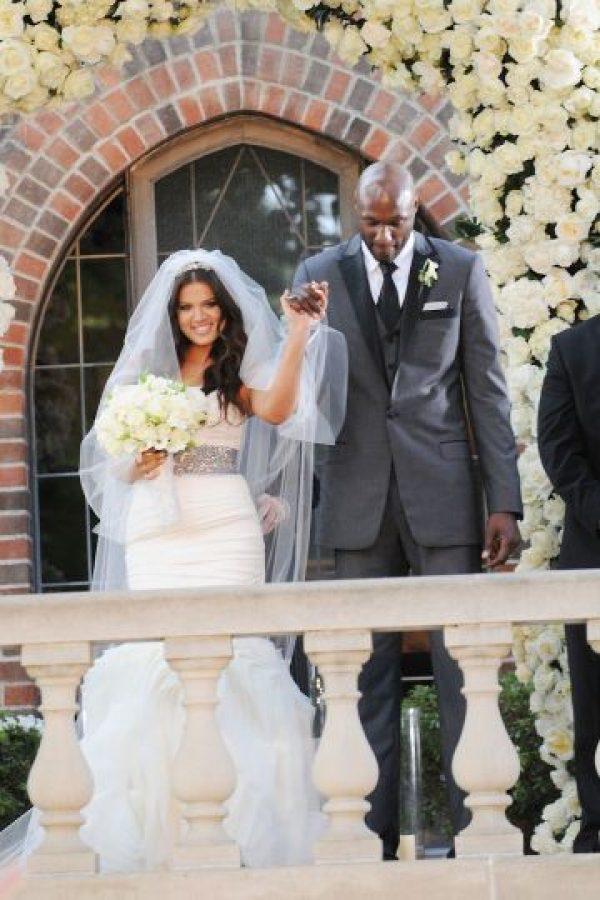 """En 2009, Khloé Kardashian y Lamar Odom se casaron a tan solo cuatro semanas de conocerse… un """"amor a primera vista"""" Foto:Grosby Group"""