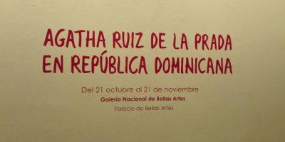 """Inauguran exposición de moda """"Agatha Ruíz De La Prada"""" en la República Dominicana"""