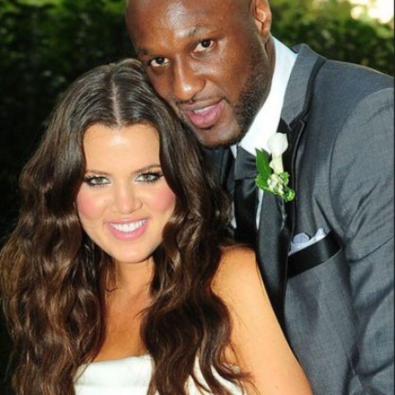El amor entre Khloé y Lamar surgió a primera vista en agosto de 2009 durante una fiesta del basquetbolista Ron Artest. Foto:Grosby Group