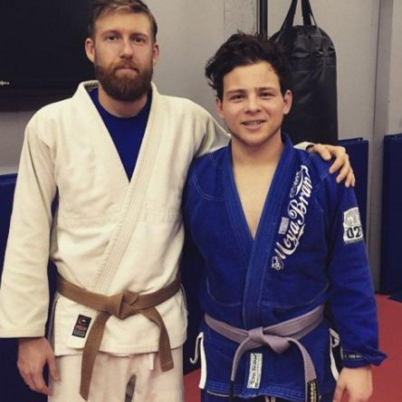 En los siguientes años, inició sus estudios en Jiu Jitsu brasileño. Foto:vía instagram.com/jonathanlipnicki