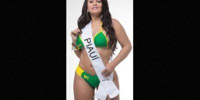 Claudia Pires, representante de Piauí Foto:missbumbum2015.com.br