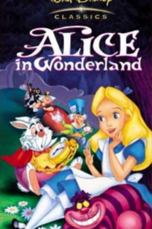 Alicia en el país de las maravillas. Foto:Disney