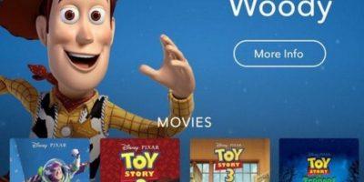 Así luce la aplicación. Foto:Disney