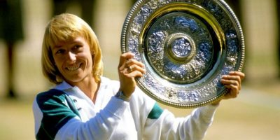 15. Martina Navratilova (Tenista) Foto: Getty Images