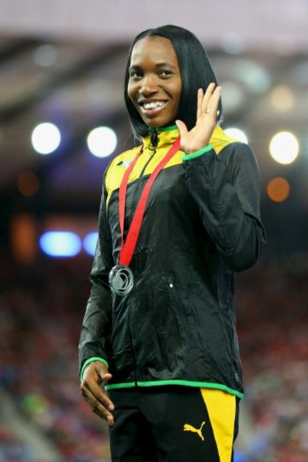 14. Novlene Williams-Mills (Velocista jamaiquina) Foto: Getty Images