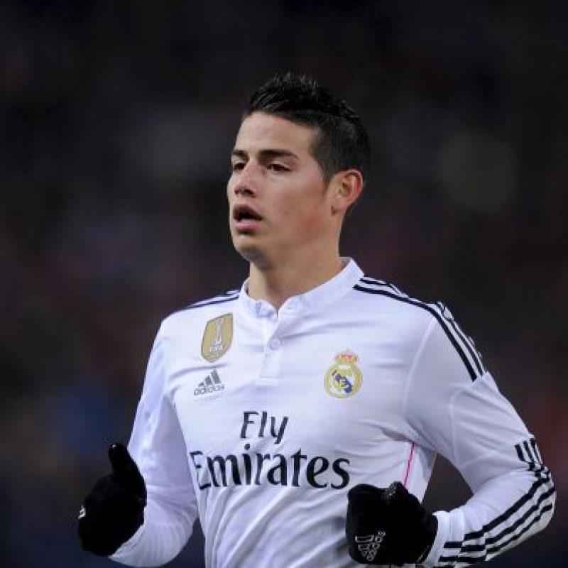 8. James Rodríguez (Real Madrid/Colombia) » 25.4 millones de dólares. Foto:Getty Images