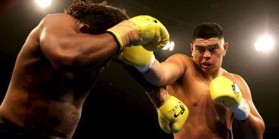 La última pelea que sostuvo fue contra Leamy Lakopo Tato. Foto:Getty Images