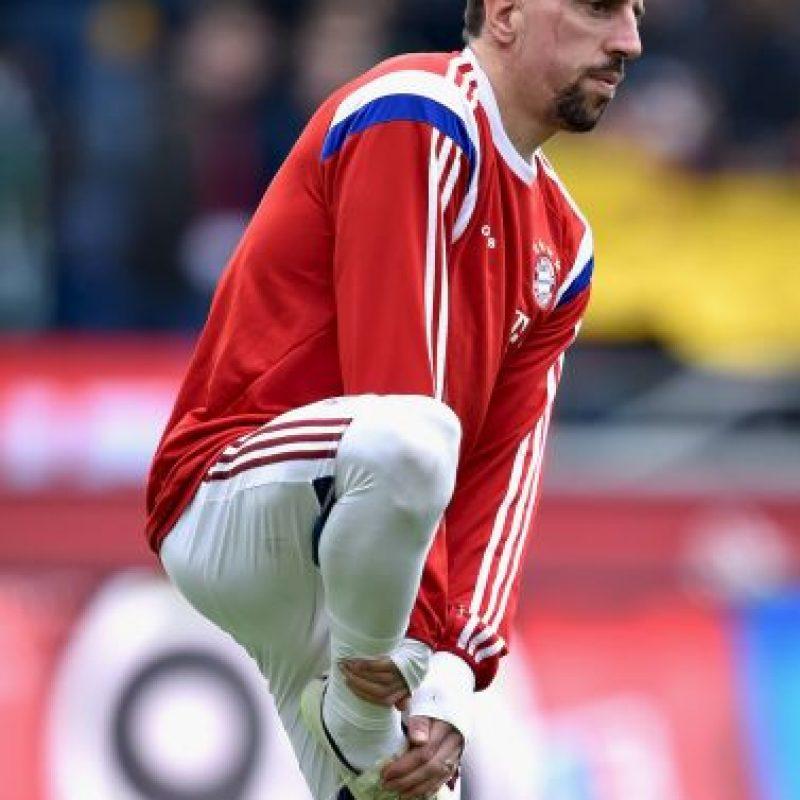 19. Franck Ribery (Bayern Munich/Francia) » 17.7 millones de dólares. Foto:Getty Images